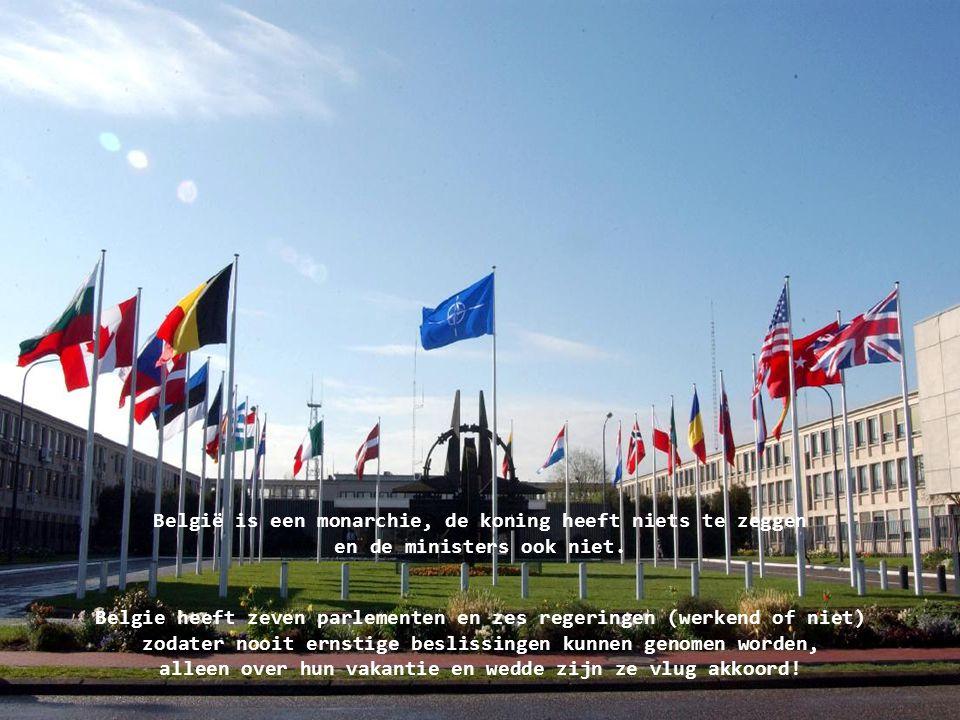 België is een monarchie, de koning heeft niets te zeggen