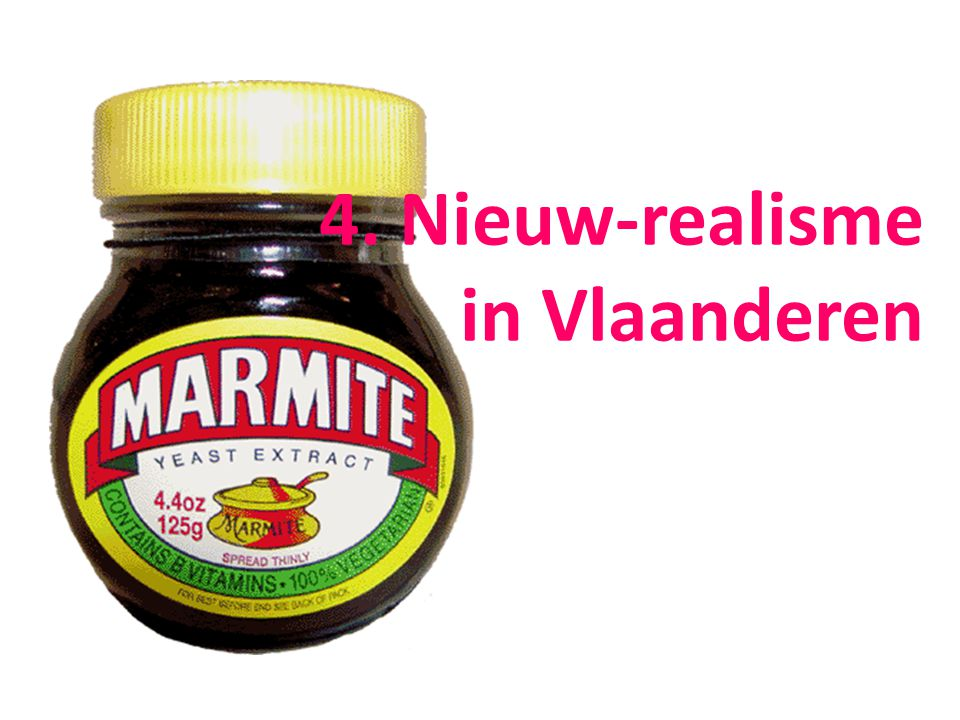 4. Nieuw-realisme in Vlaanderen