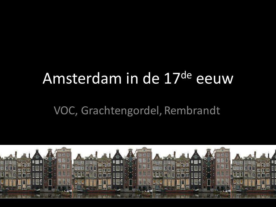 VOC, Grachtengordel, Rembrandt