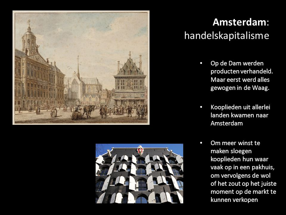 Amsterdam: handelskapitalisme
