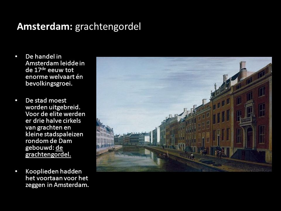 Amsterdam: grachtengordel