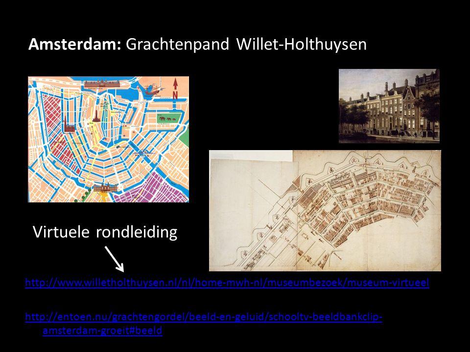 Amsterdam: Grachtenpand Willet-Holthuysen