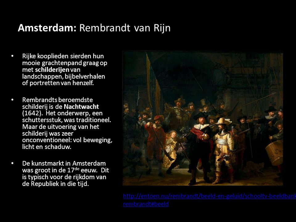 Amsterdam: Rembrandt van Rijn