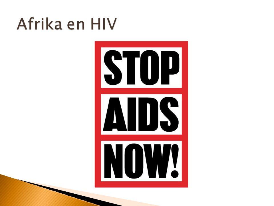 Afrika en HIV