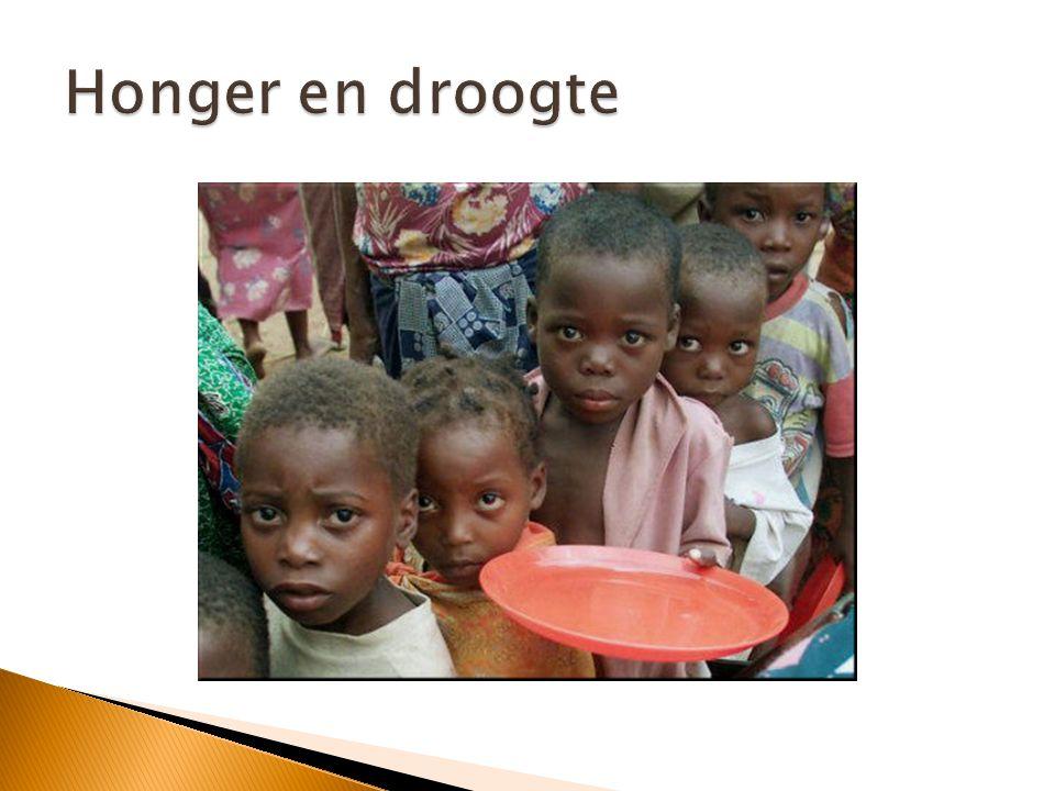 Honger en droogte