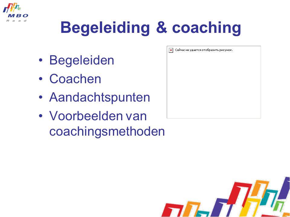 Begeleiding & coaching