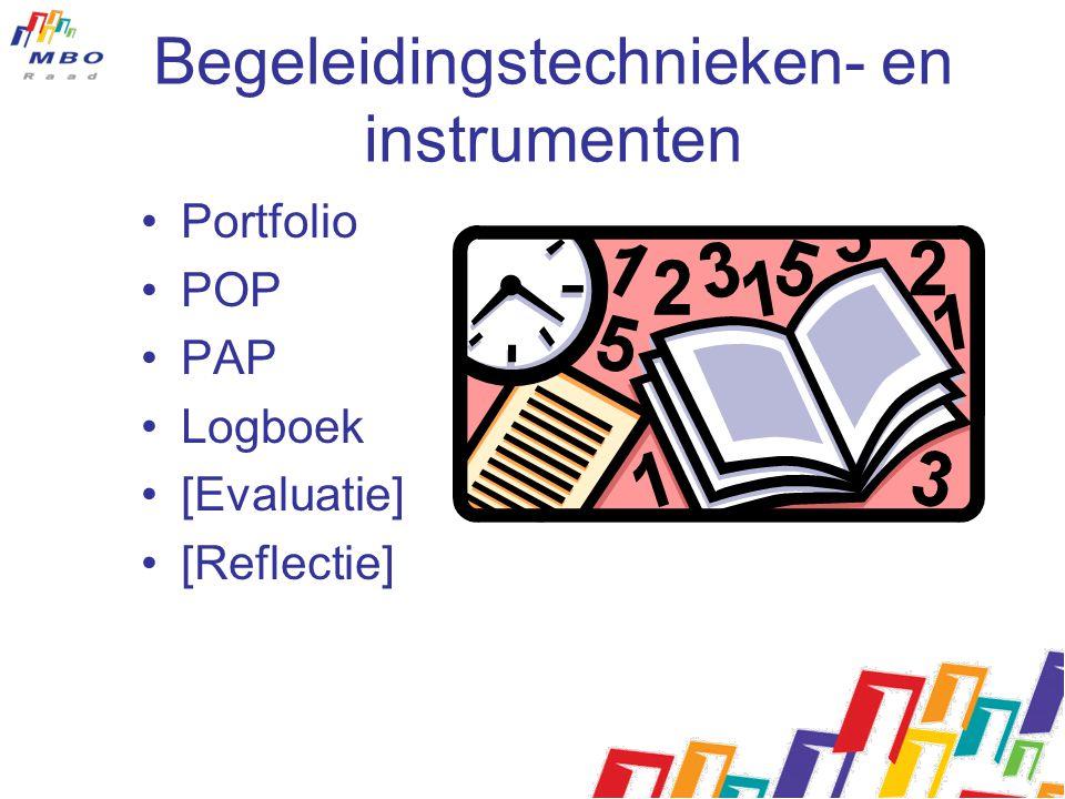 Begeleidingstechnieken- en instrumenten