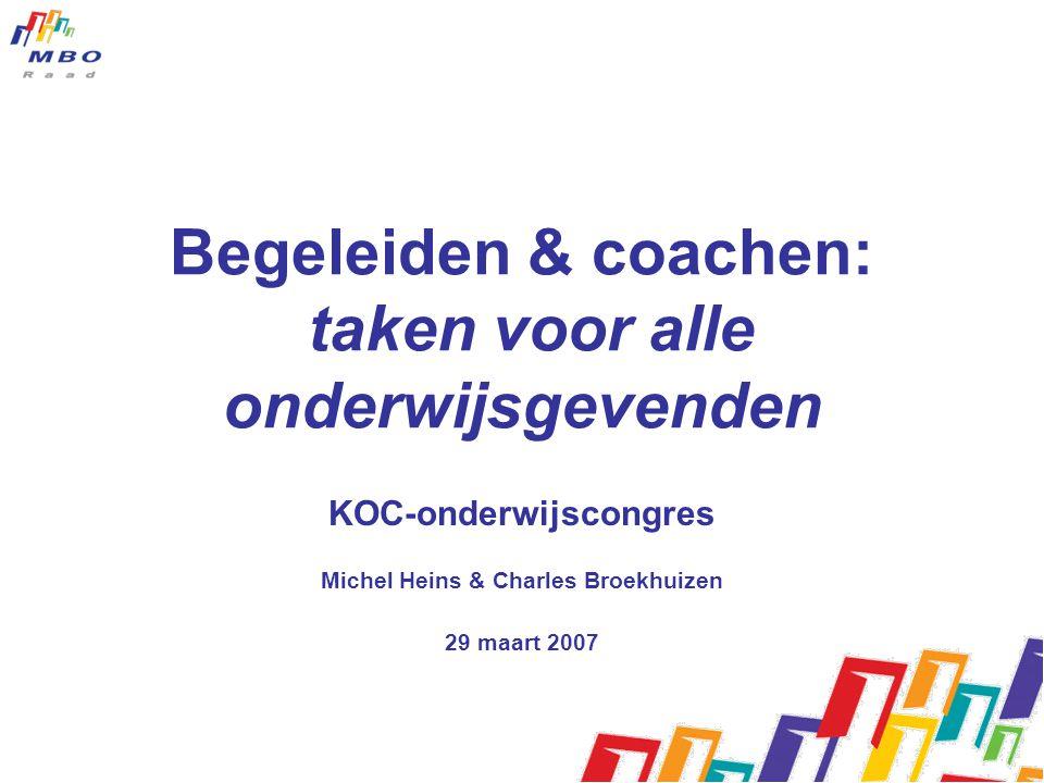 Begeleiden & coachen: taken voor alle onderwijsgevenden