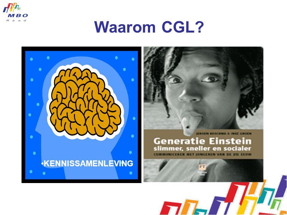 Waarom CGL KENNISSAMENLEVING