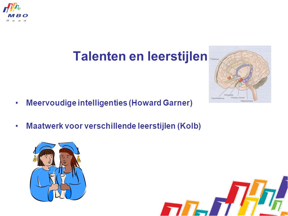 Talenten en leerstijlen