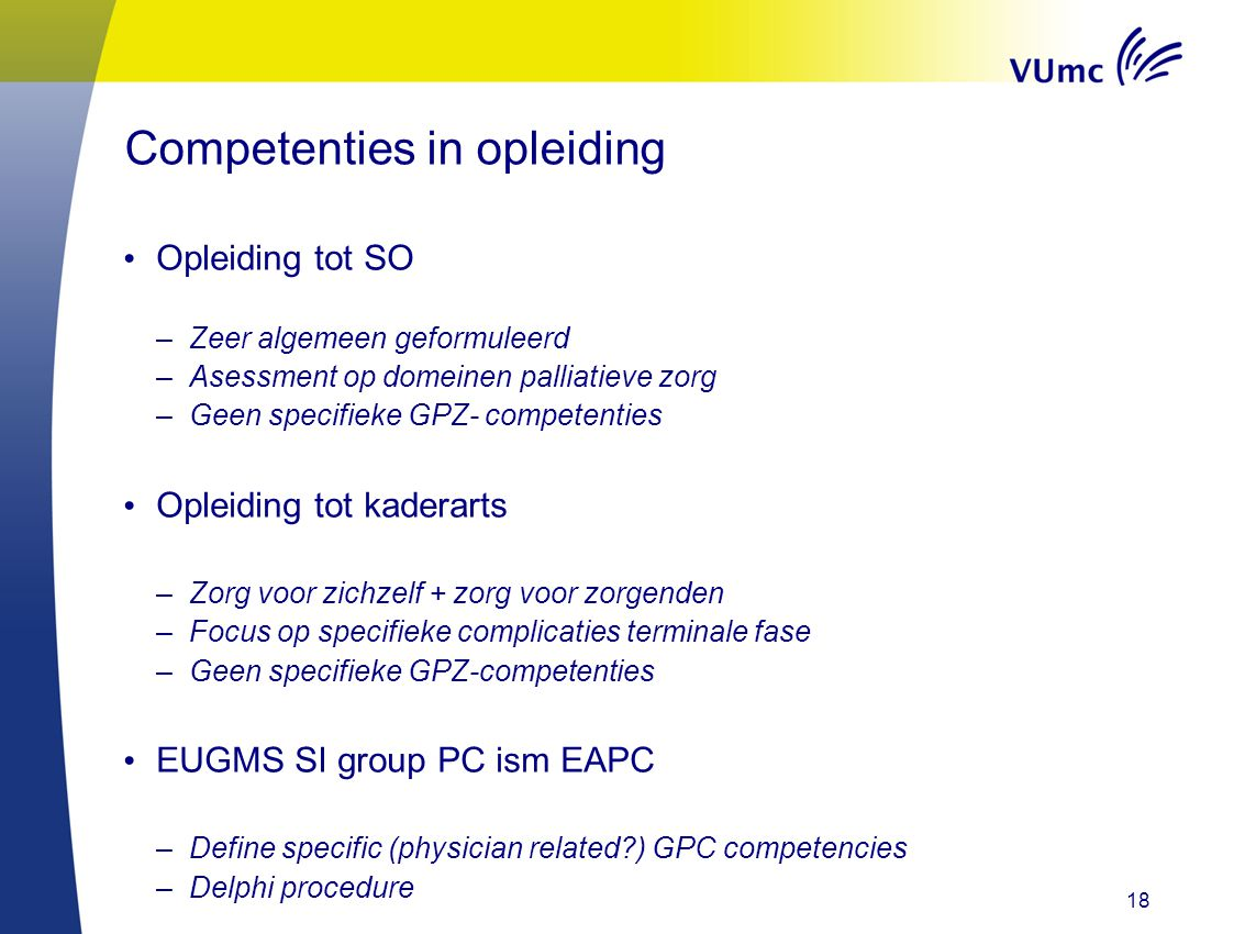 Competenties in opleiding
