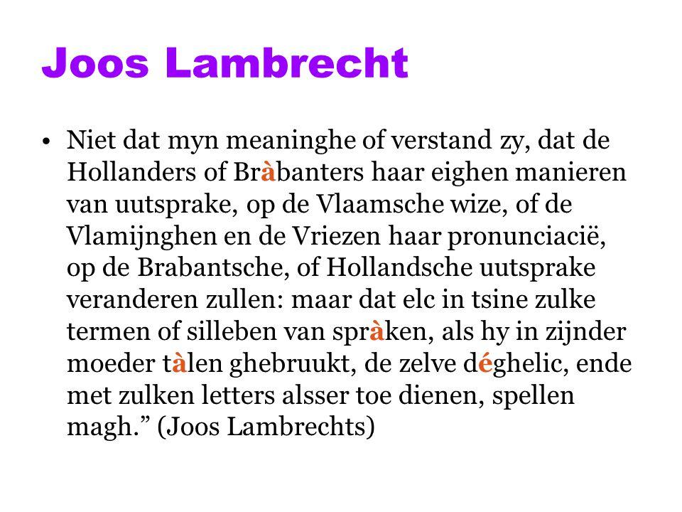 Joos Lambrecht