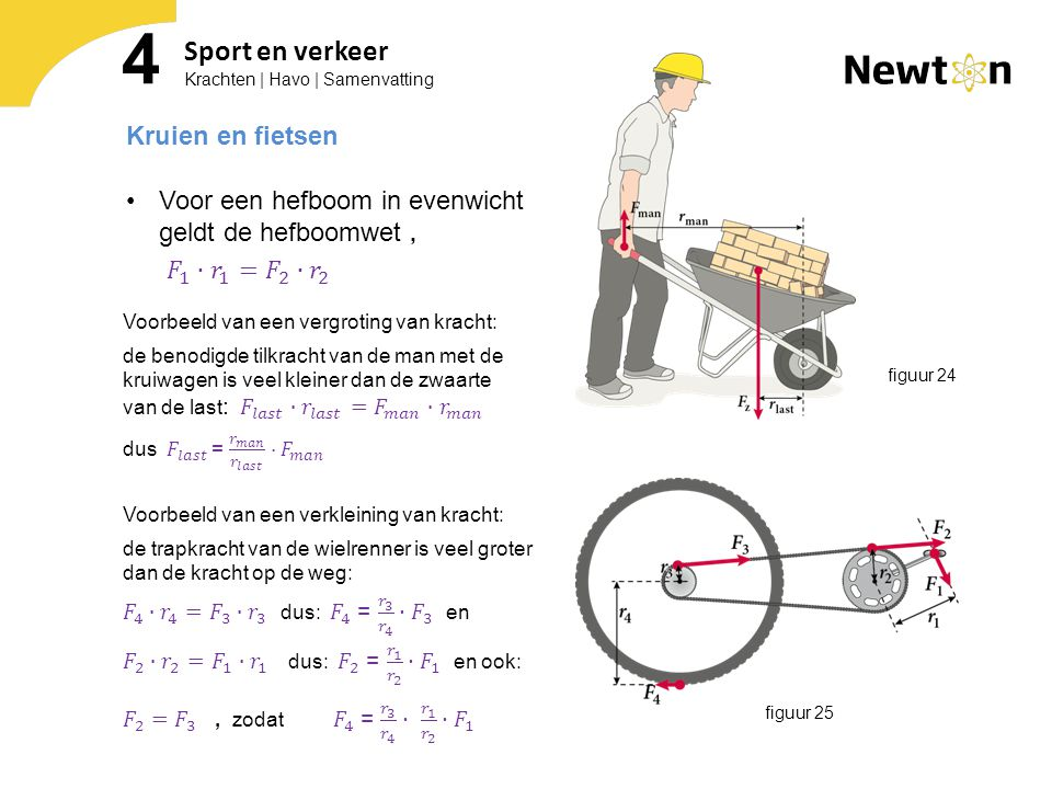 4 Sport en verkeer Kruien en fietsen
