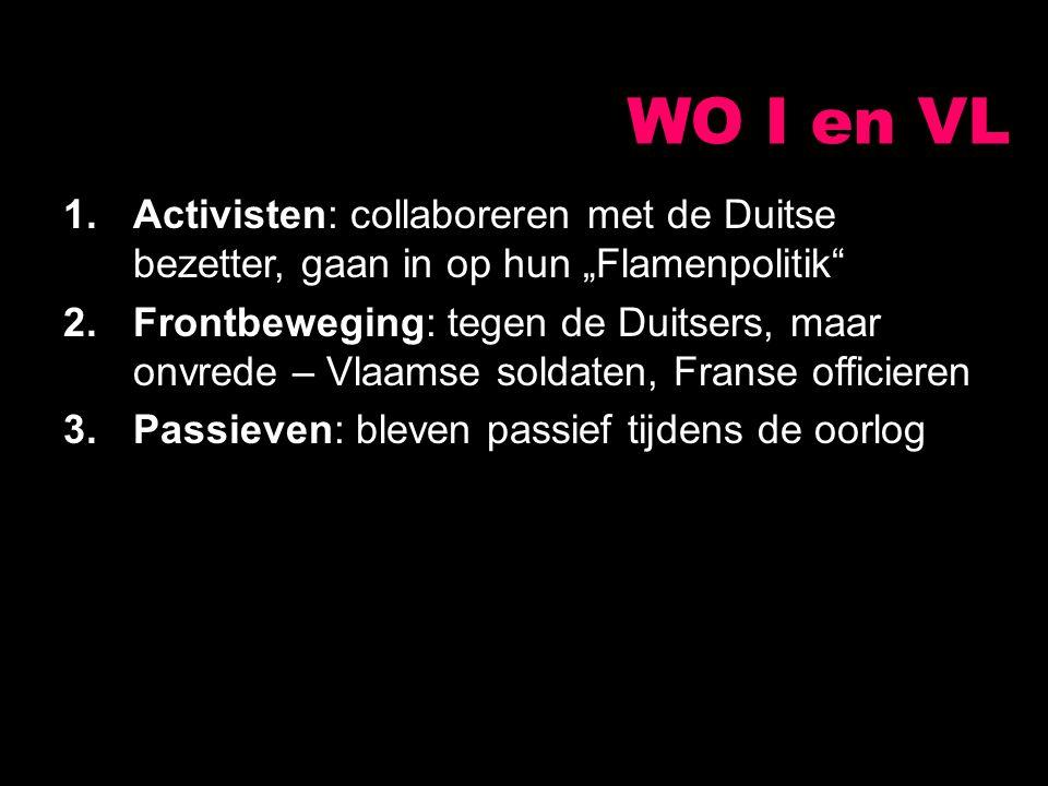 """WO I en VL Activisten: collaboreren met de Duitse bezetter, gaan in op hun """"Flamenpolitik"""