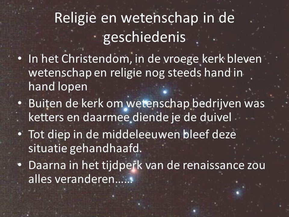 Religie en wetenschap in de geschiedenis