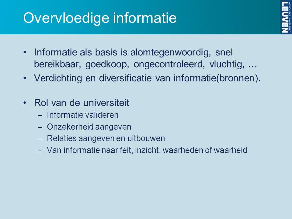 Overvloedige informatie