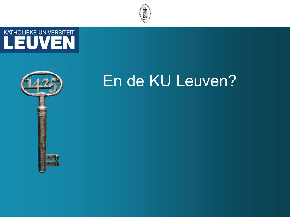 En de KU Leuven