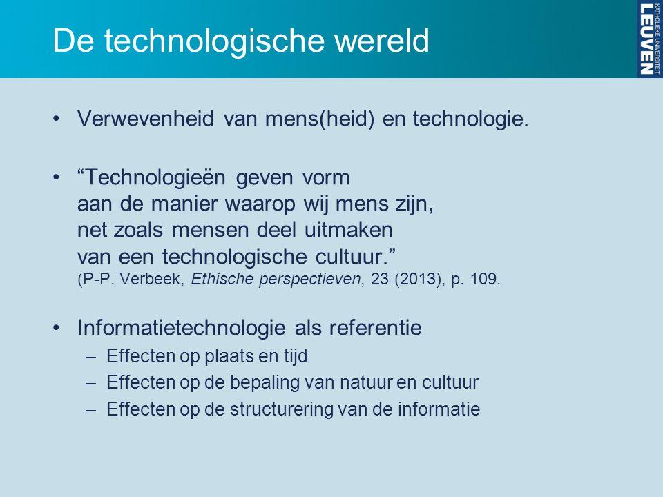 De technologische wereld