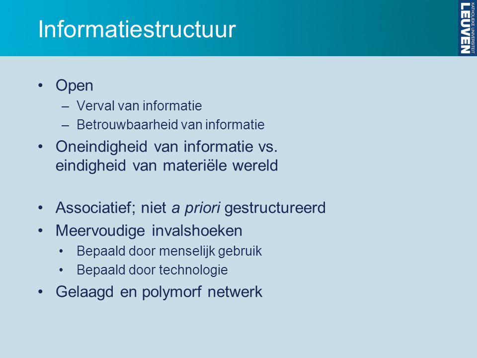 Informatiestructuur Open
