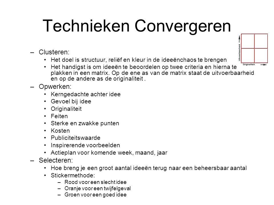 Technieken Convergeren