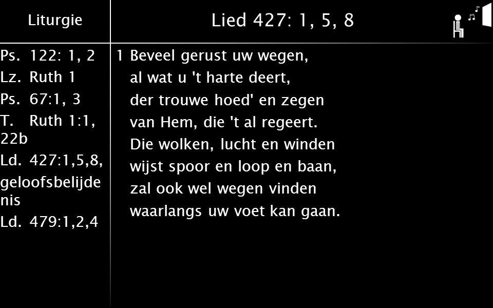 Lied 427: 1, 5, 8
