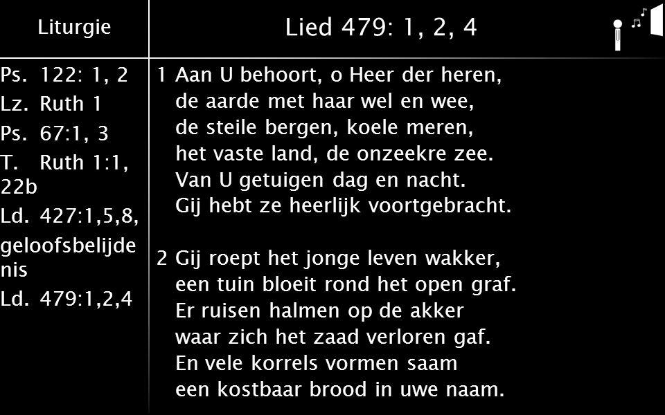 Lied 479: 1, 2, 4