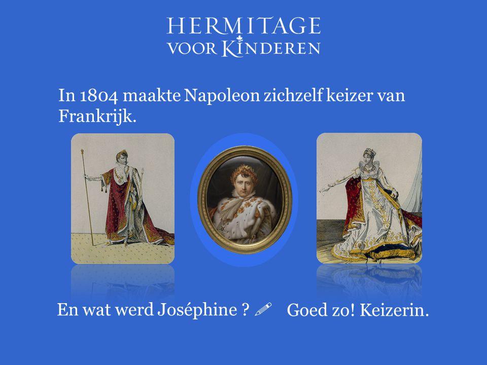 In 1804 maakte Napoleon zichzelf keizer van Frankrijk.