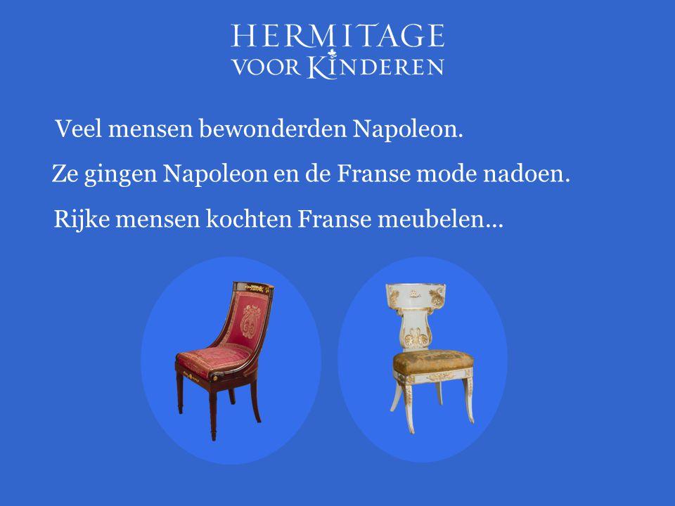 Veel mensen bewonderden Napoleon.