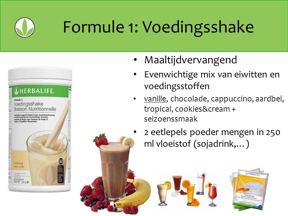 Formule 1: Voedingsshake
