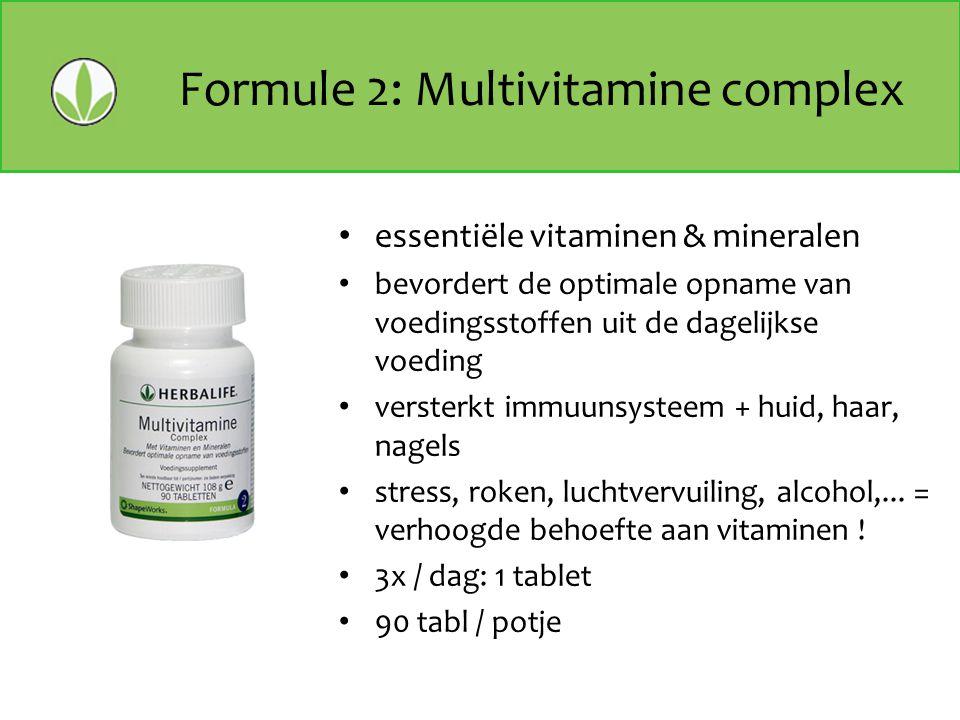 Formule 2: Multivitamine complex