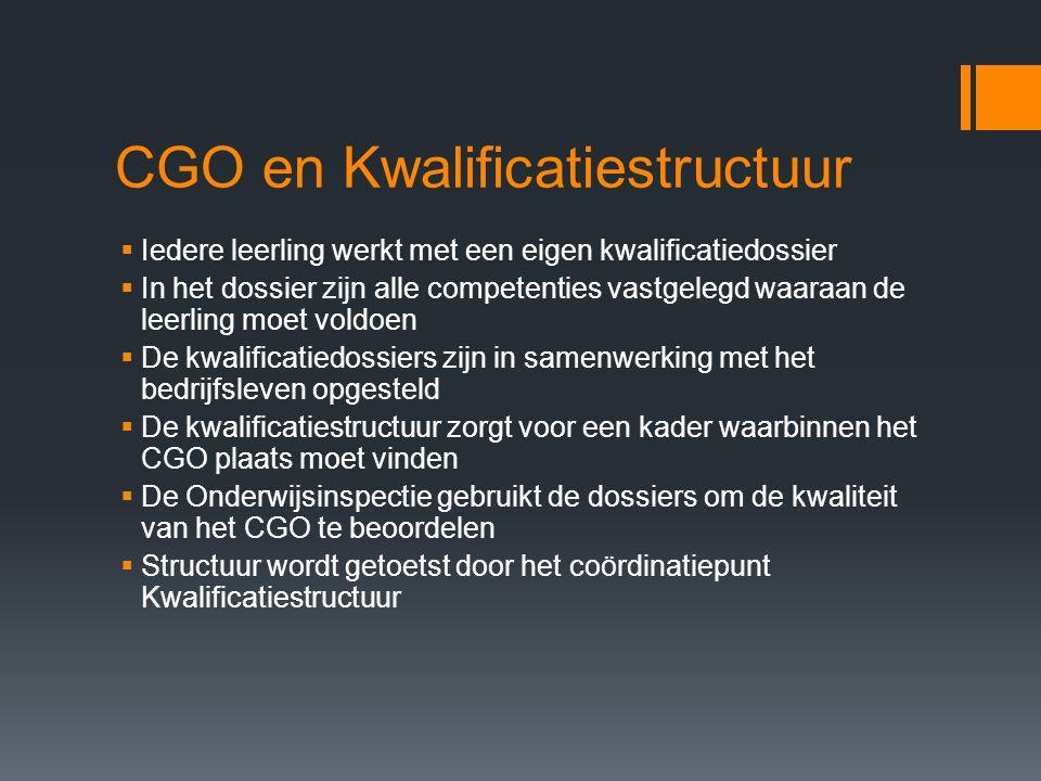 CGO en Kwalificatiestructuur
