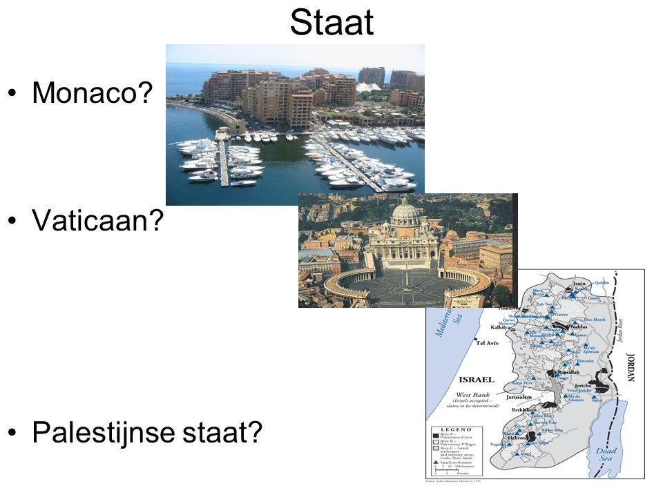 Staat Monaco Vaticaan Palestijnse staat