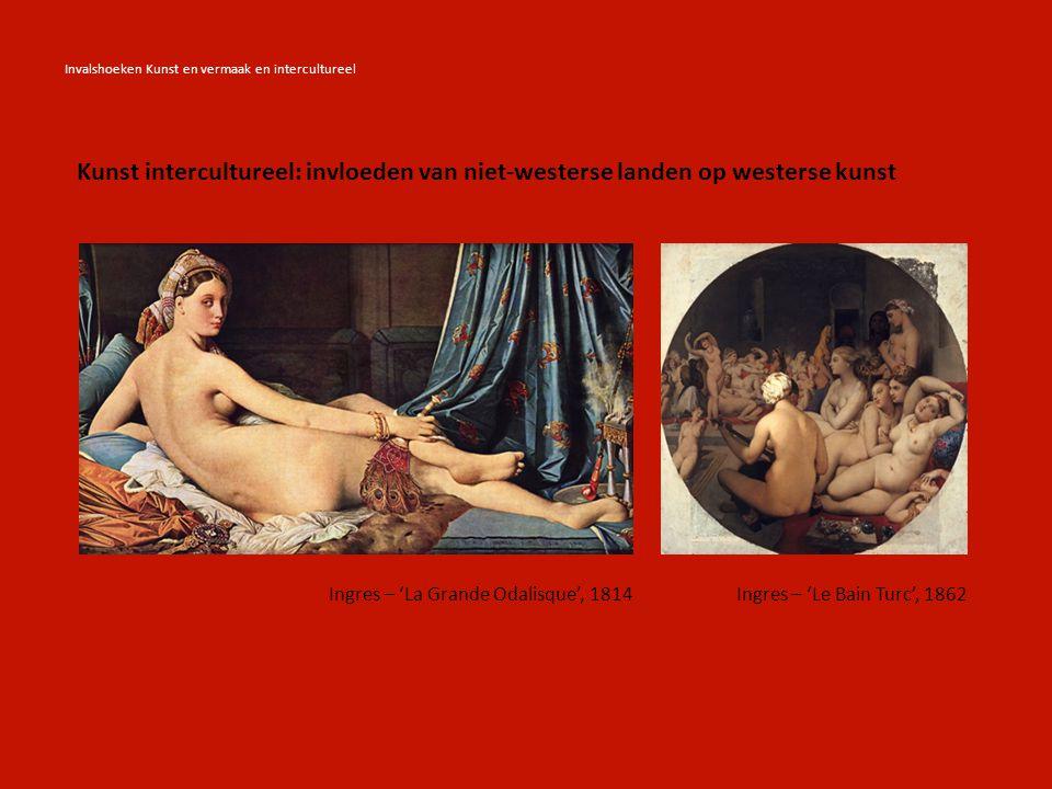 Invalshoeken Kunst en vermaak en intercultureel