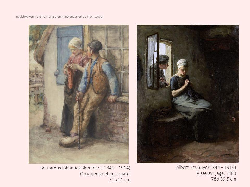 Invalshoeken Kunst en religie en Kunstenaar en opdrachtgever