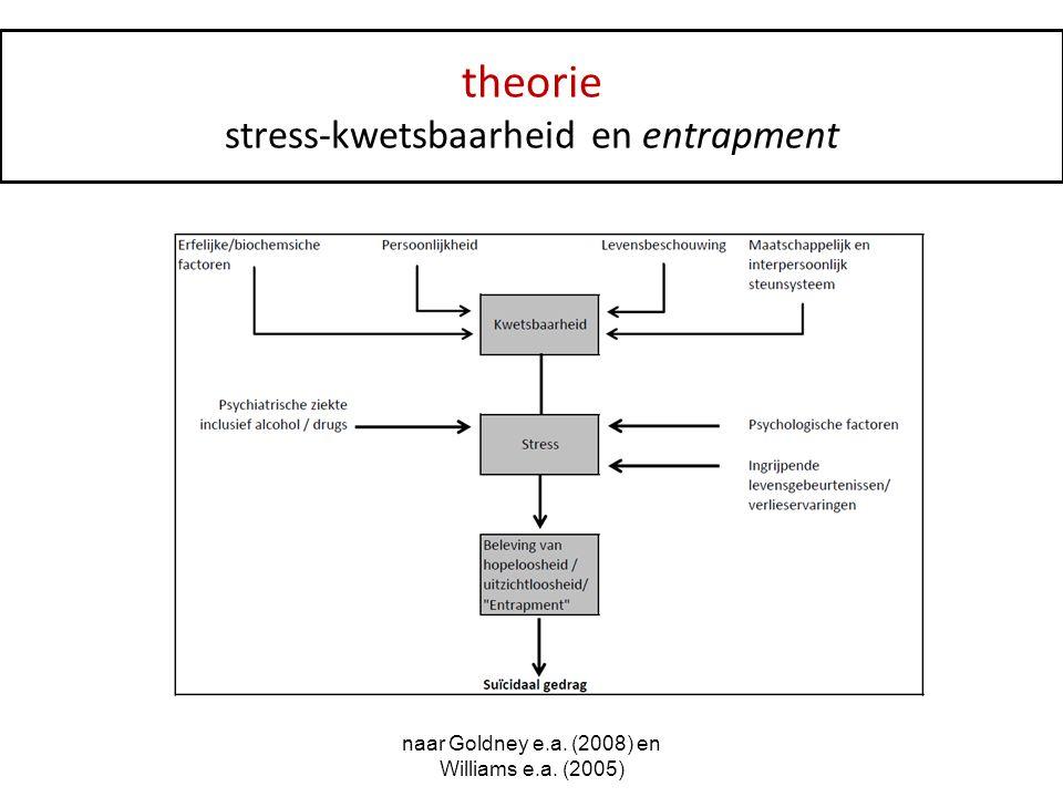 theorie stress-kwetsbaarheid en entrapment