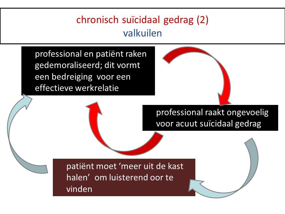 chronisch suïcidaal gedrag (2)
