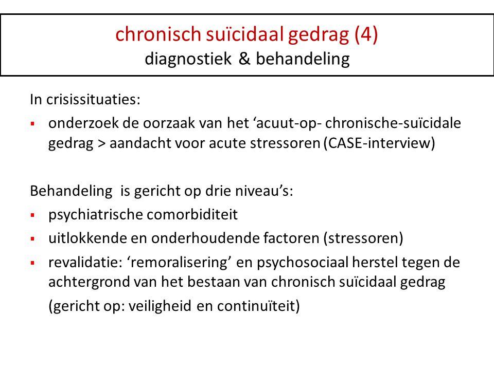 chronisch suïcidaal gedrag (4)