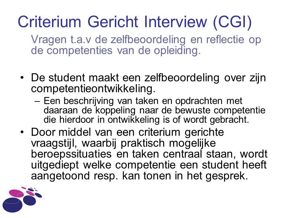 Criterium Gericht Interview (CGI)