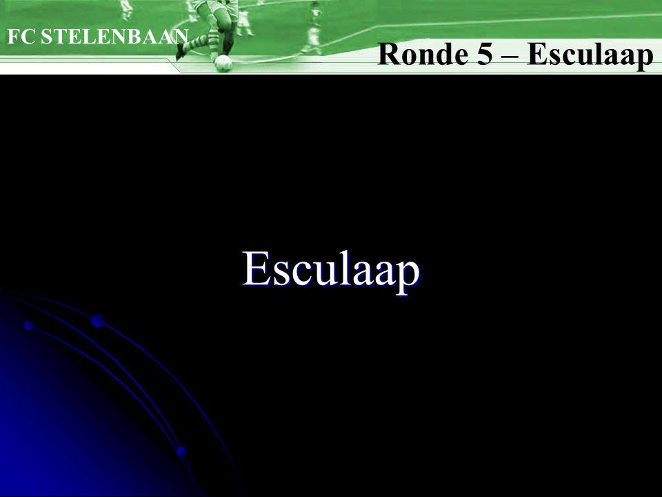 FC STELENBAAN Ronde 5 – Esculaap Esculaap