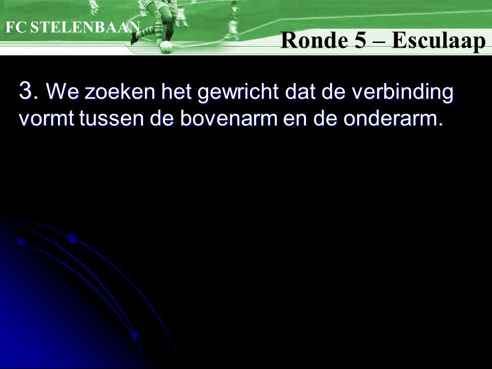 FC STELENBAAN Ronde 5 – Esculaap. 3.