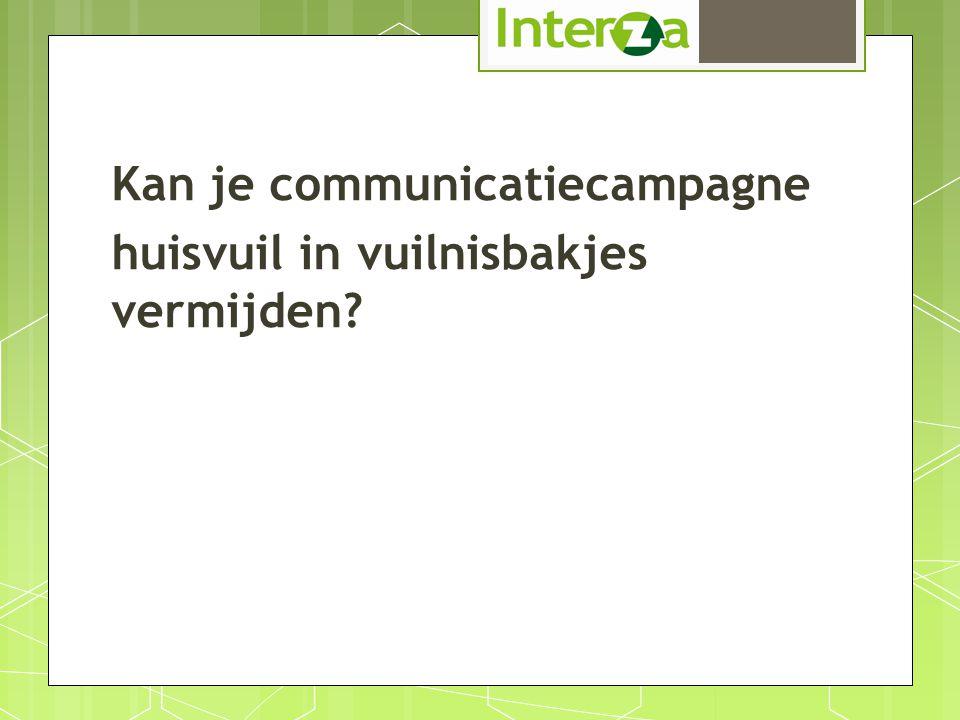 Kan je communicatiecampagne