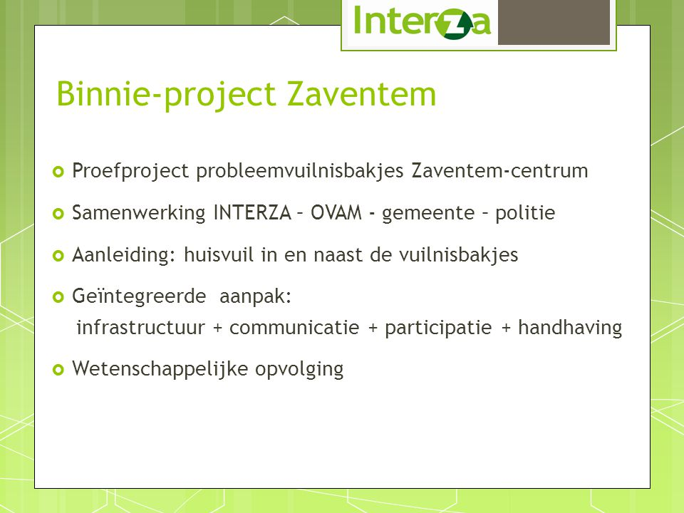 Binnie-project Zaventem