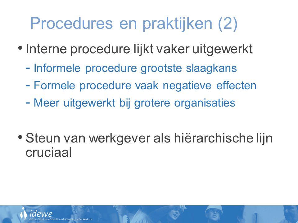 Procedures en praktijken (2)