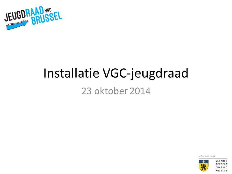 Installatie VGC-jeugdraad