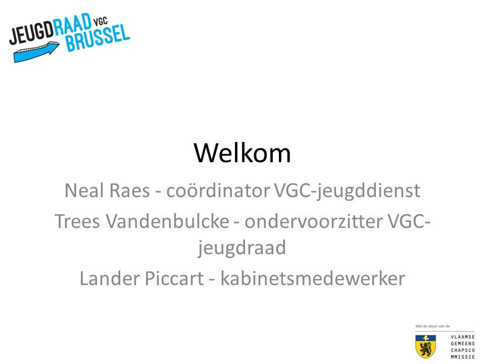 Welkom Neal Raes - coördinator VGC-jeugddienst