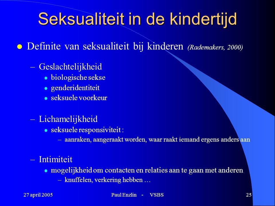 Seksualiteit in de kindertijd