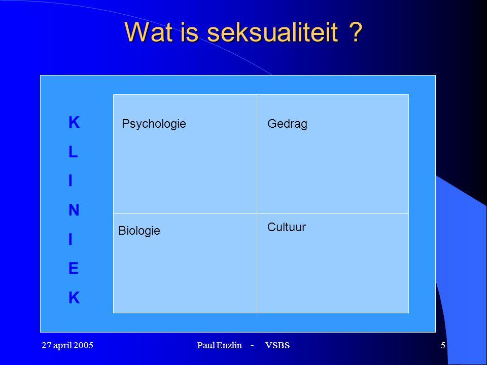 Wat is seksualiteit K L I N E Psychologie Gedrag Cultuur Biologie