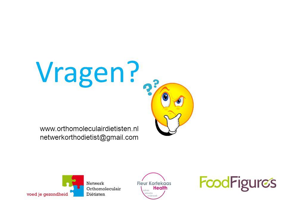 Vragen www.orthomoleculairdietisten.nl netwerkorthodietist@gmail.com