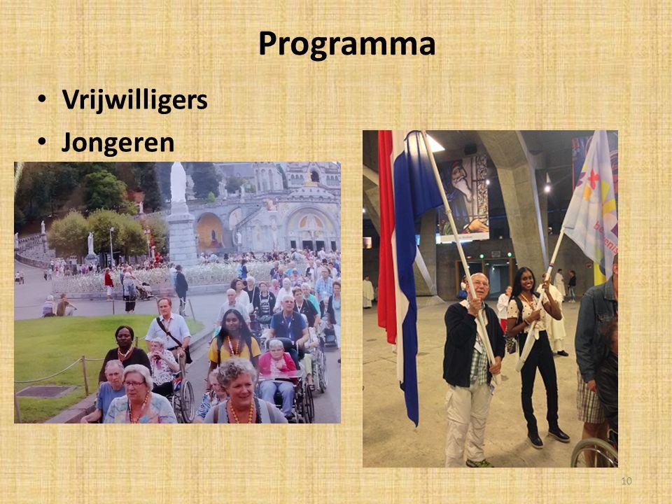 Programma Vrijwilligers Jongeren