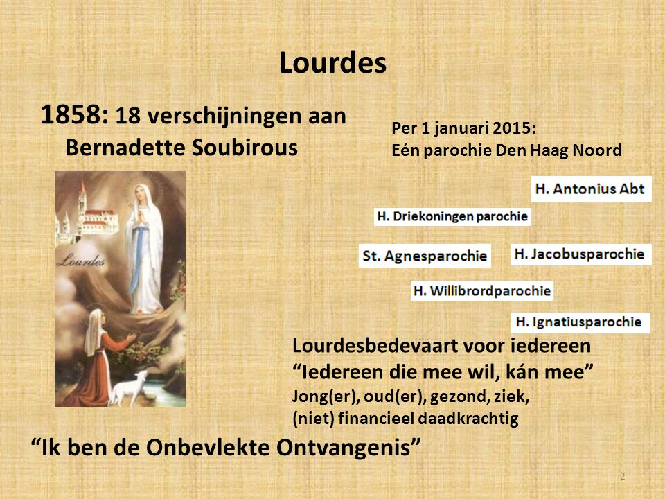 Lourdes 1858: 18 verschijningen aan Bernadette Soubirous